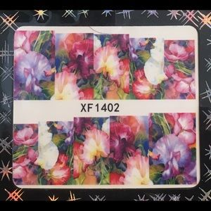Other - NWT Nail Art Waterslide Tattoos, Delicate Floral